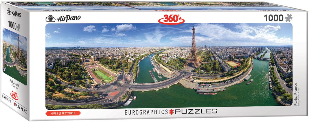 Puzzle Eurographics París, Francia de 1000 Piezas
