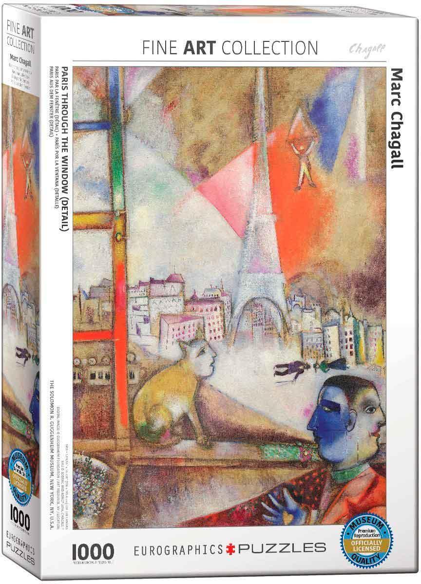 Puzzle Eurographics París por la Ventana (Detelle) de 1000 Pieza