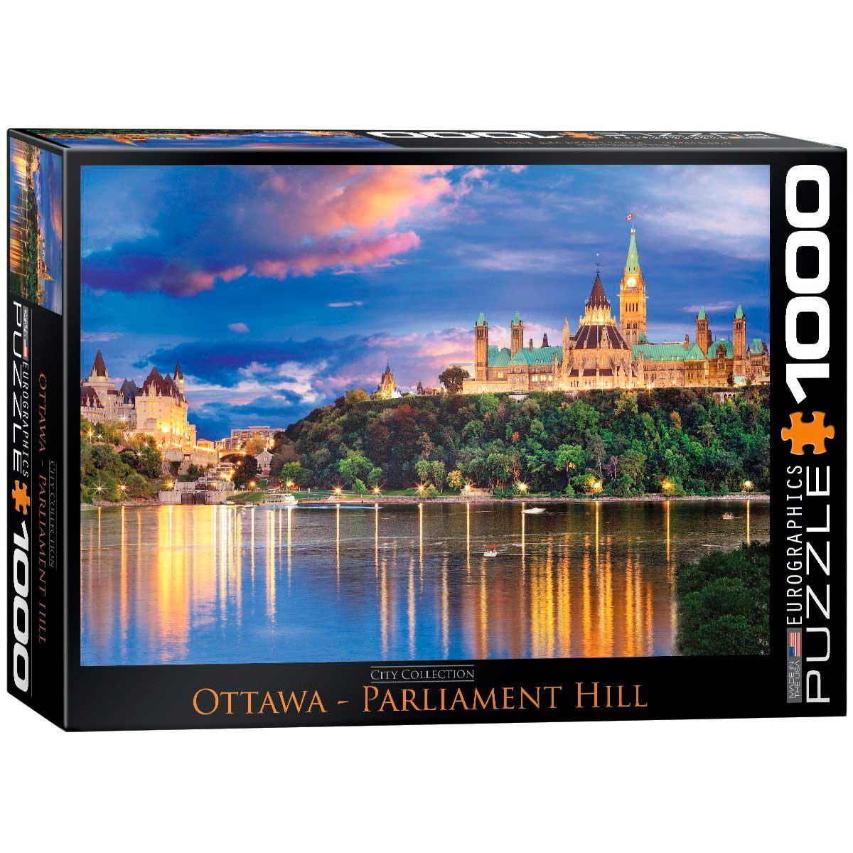 Puzzle Eurographics Parliament Hill, Ottawa de 1000 Piezas