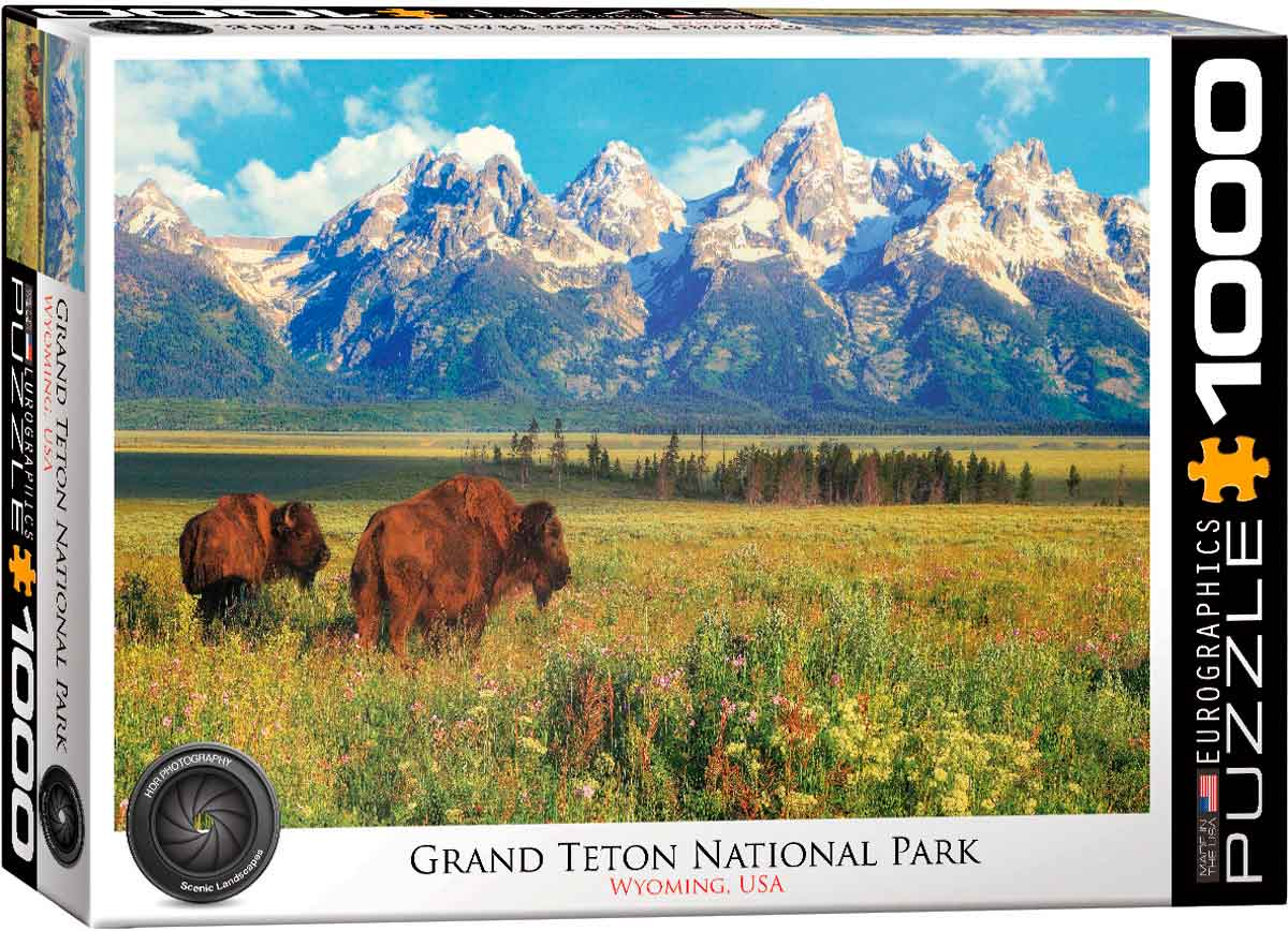 Puzzle Eurographics Parque Nacional de Grand Teton de 1000 Pzs