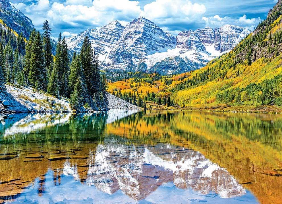 Puzzle Eurographics Parque Nacional Montañas Rocky 1000 Piezas