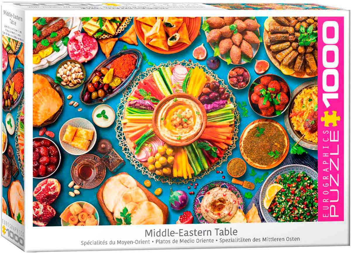 Puzzle Eurographics Platos del Medio Oriente de 1000 Piezas
