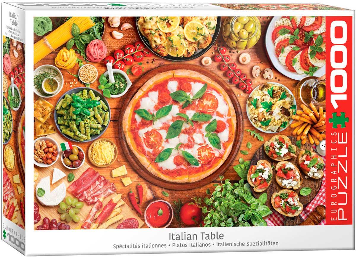 Puzzle Eurographics Platos Italianos de 1000 Piezas