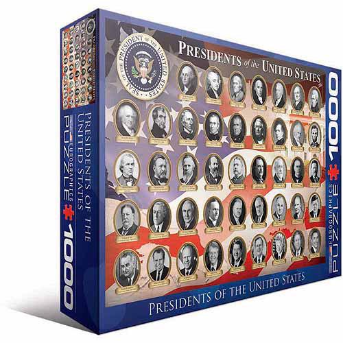 Puzzle Eurographics Presidentes de los EEUU de 1000 Piezas