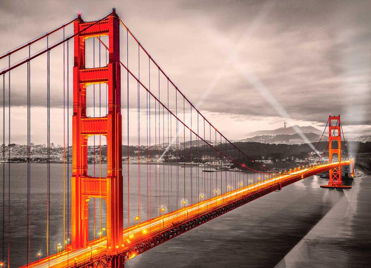 Puzzle Eurographics Puente Golden Gate de 1000 Piezas