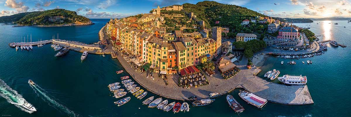 Puzzle Eurographics Puerto Venere, Italia de 1000 Piezas