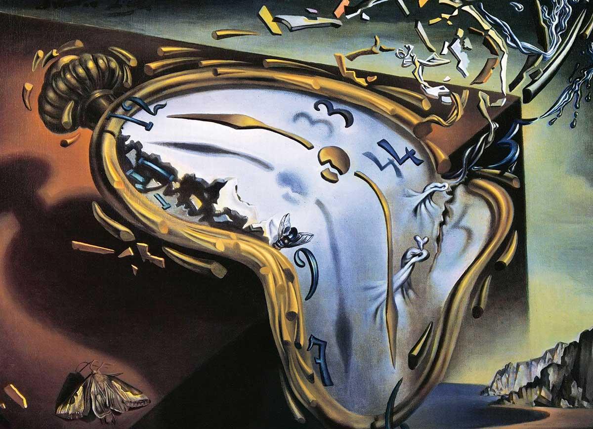 Puzzle Eurographics Reloj Blando de 1000 Piezas