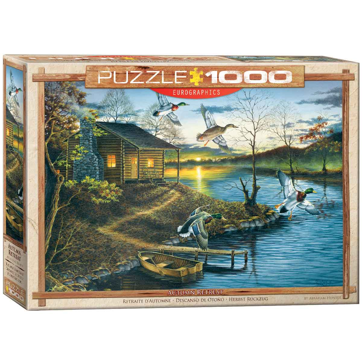 Puzzle Eurographics Retiro de Otoño de 1000 Piezas