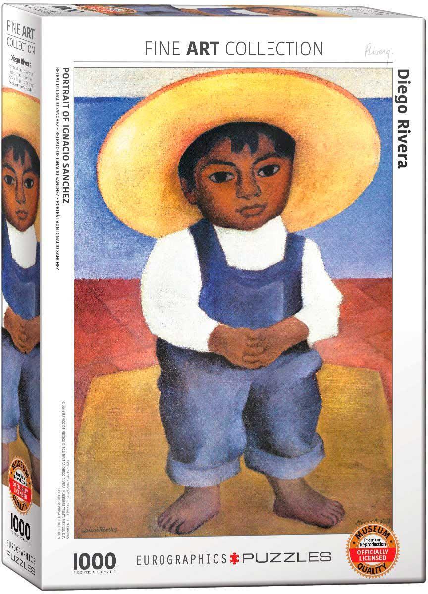Puzzle Eurographics Retrato de Ignacio Sanchez de 1000 Piezas