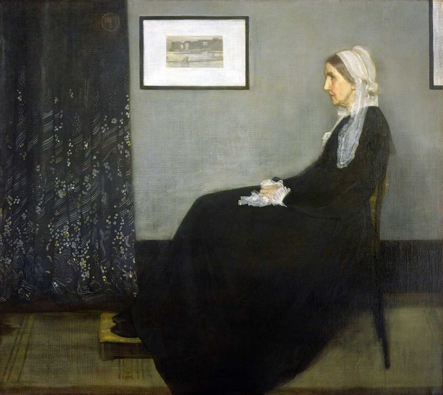 Puzzle Eurographics Retrato de la Madre del Artista de 1000 Pzs