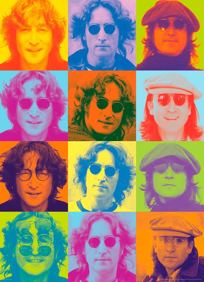 Puzzle Eurographics John Lennon Retratos a color, 1000 Piezas
