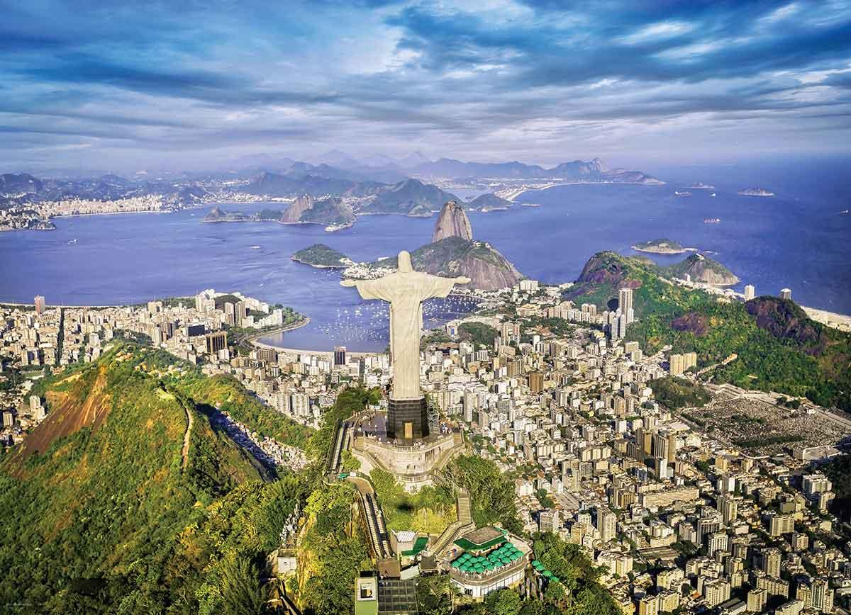 Puzzle Eurographics Río de Janeiro, Brasil de 1000 Piezas