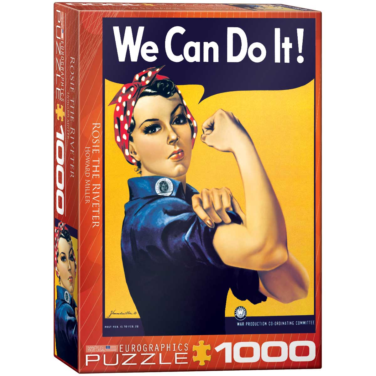 Puzzle Eurographics Rosie La Remachadora, 1000 Piezas