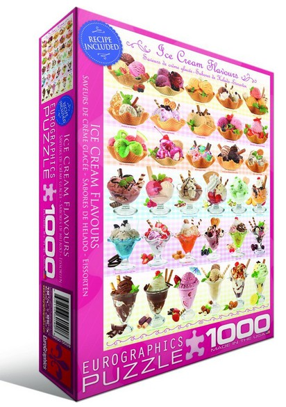 Puzzle Eurographics Sabores de Helado de 1000 Piezas