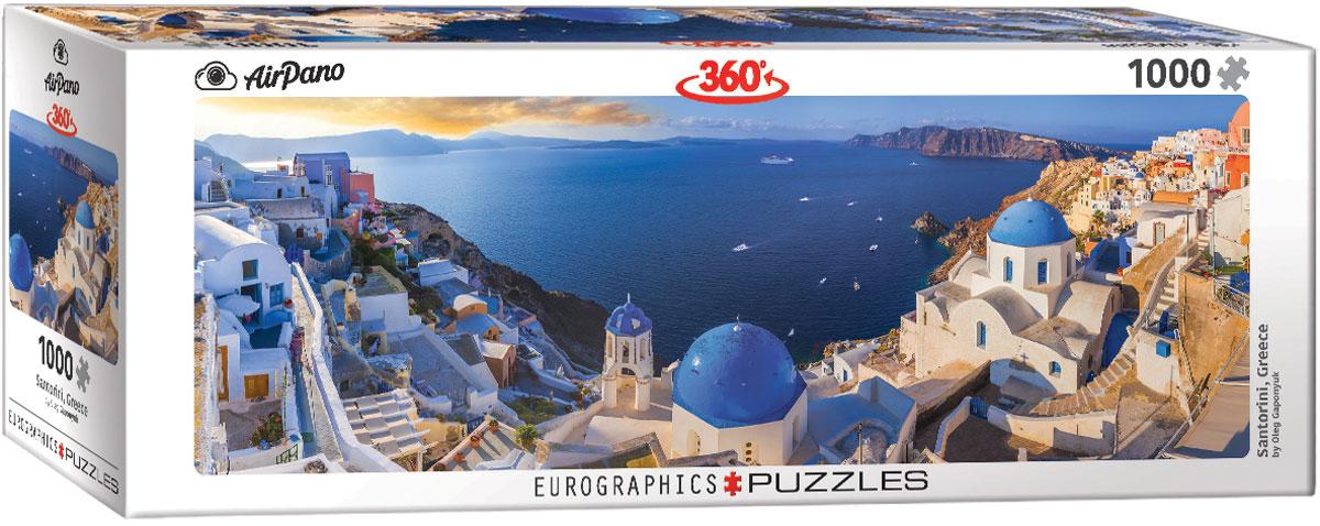 Puzzle Eurographics Panorámica de Santorini, Grecia 1000 Piezas