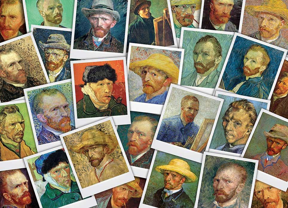 Puzzle Eurographics Sefies de Van Gogh de 1000 Piezas