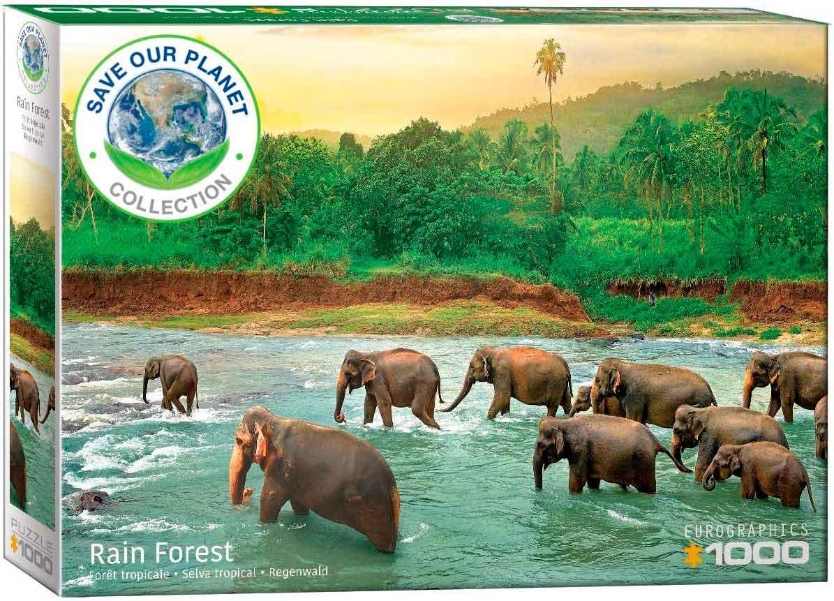 Puzzle Eurographics Selva Tropical de 1000 Piezas