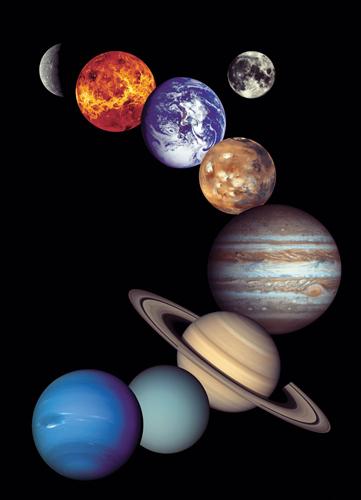 Puzzle Eurographics Sistema Solar de 1000 Piezas