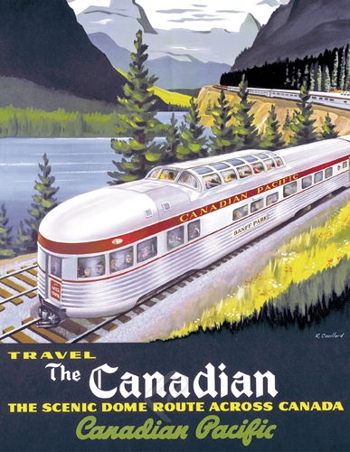 Puzzle Eurographics The Canadian Travel de 1000 Piezas