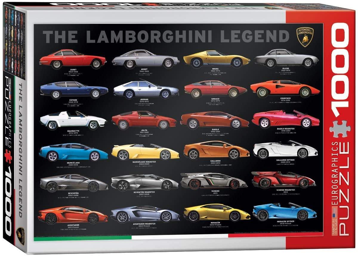 Puzzle Eurographics The Lamborghini Legend de 1000 Piezas