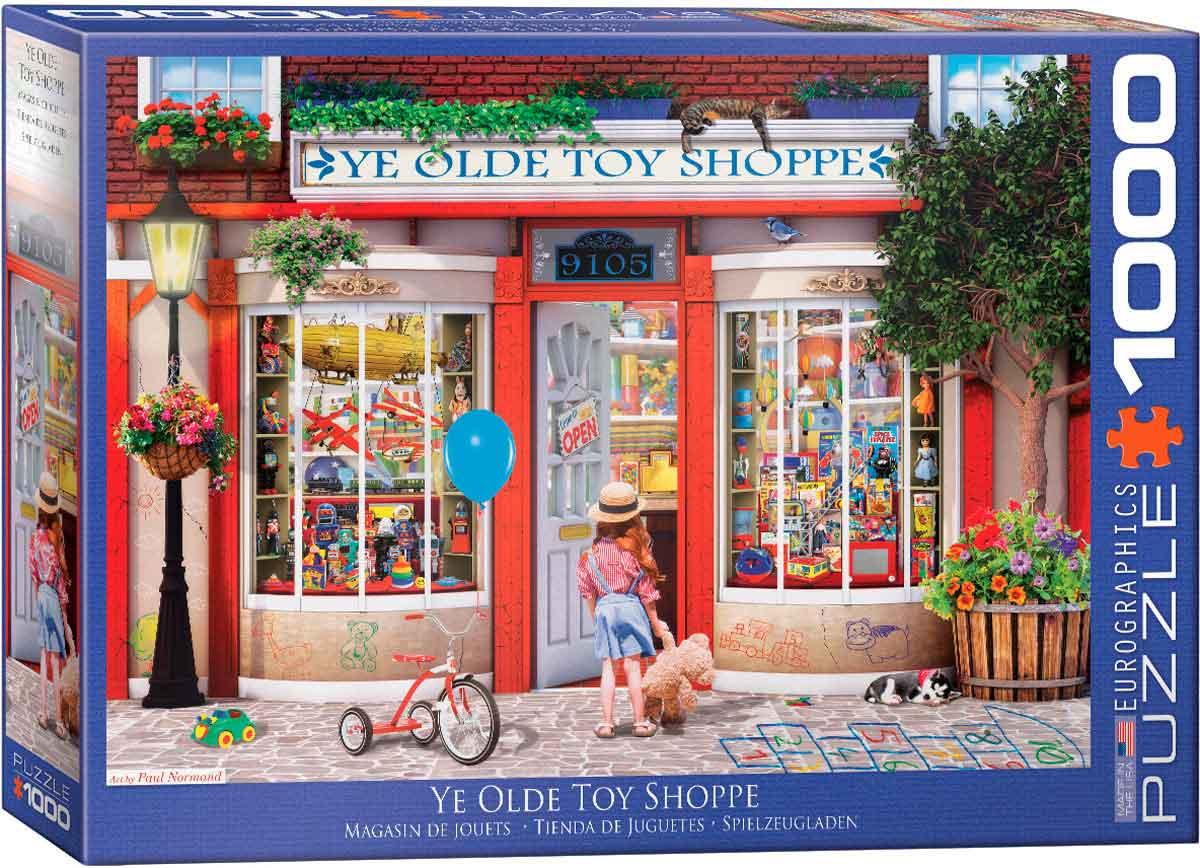 Puzzle Eurographics Tienda de Juguetes de 1000 Piezas