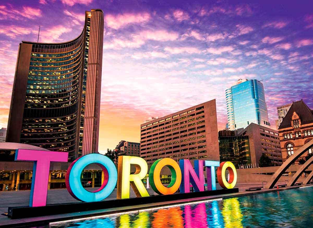 Puzzle Eurographics Toronto, Canadá de 1000 Piezas