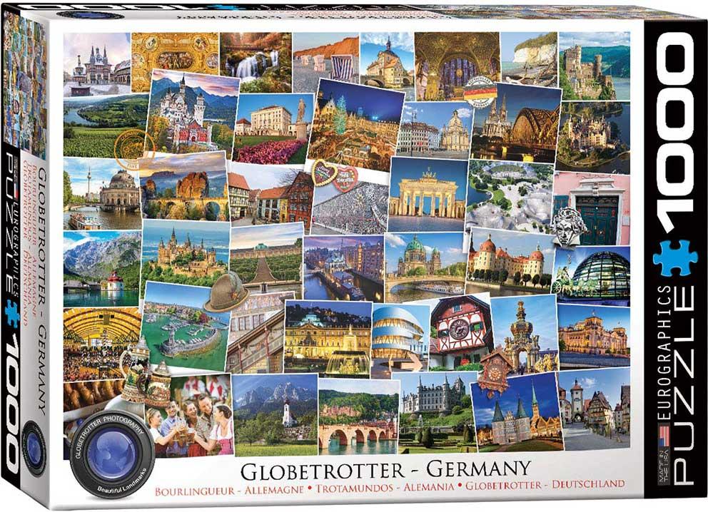 Puzzle Eurographics Trotamundos Alemania de 1000 Piezas