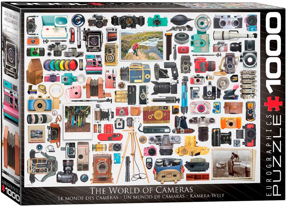 Puzzle Eurographics Un Mundo de Cámaras de 1000 Piezas