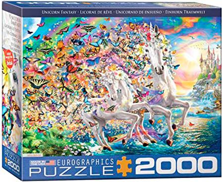 Puzzle Eurographics Unicornio de Ensueño de 2000 Piezas