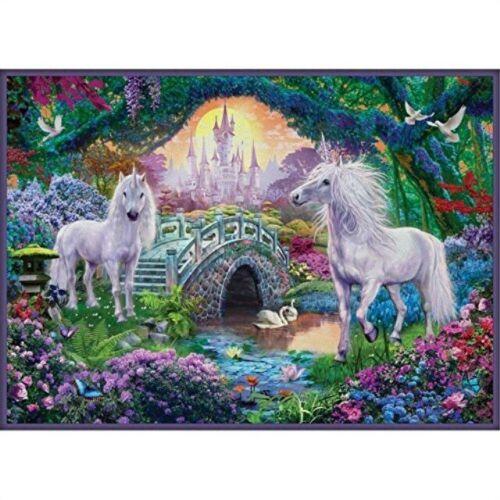 Puzzle Eurographics Unicornios en el Mundo de Hadas de 500 Pieza
