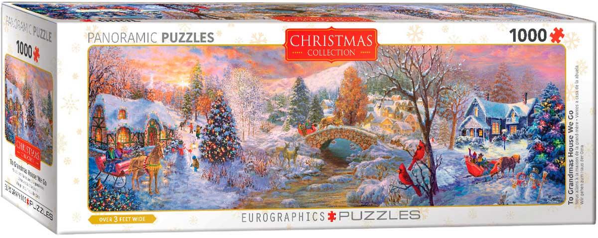 Puzzle Eurographics Vamos a Casa de la Abuela, 1000 Piezas
