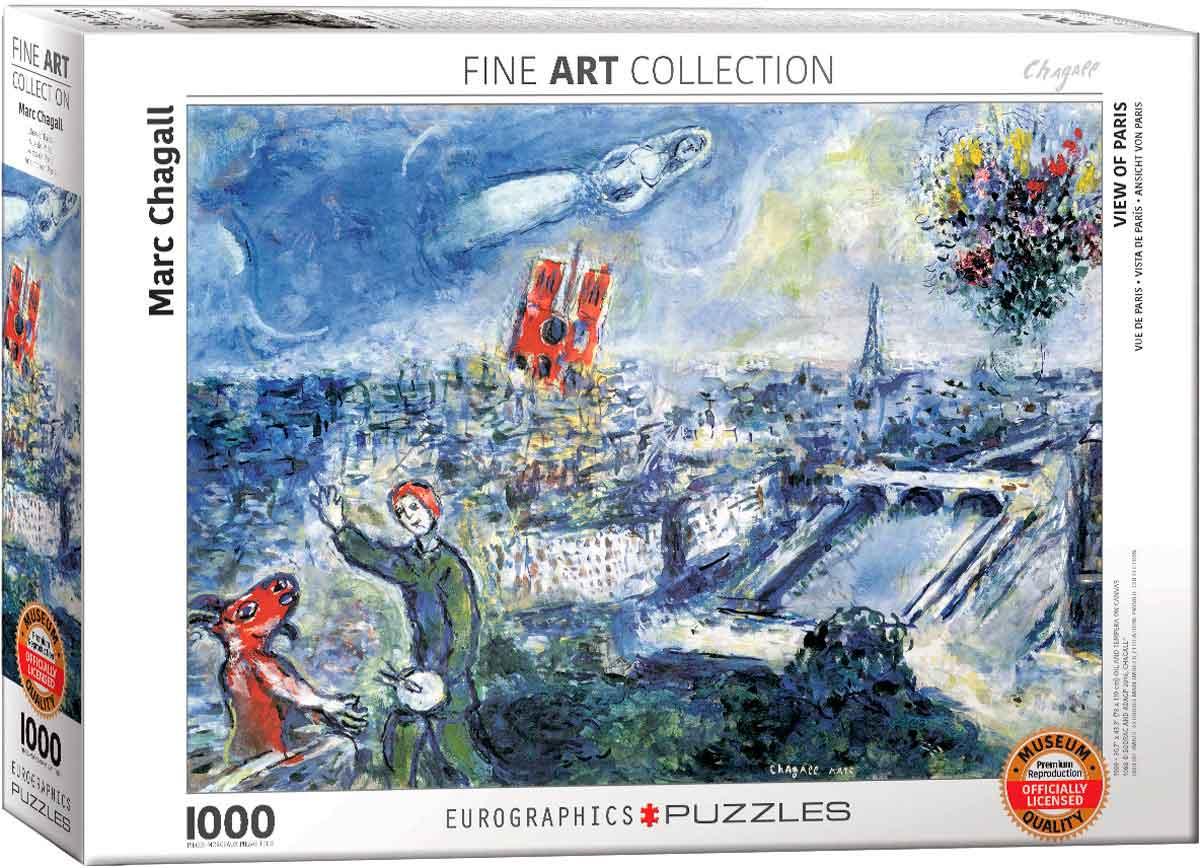 Puzzle Eurographics Vista de París de 1000 Piezas