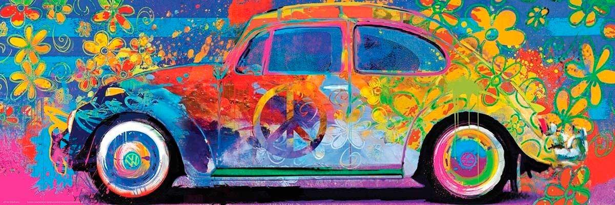 Puzzle Eurographics Volkswagen Beetle Splash de 1000 Pzs