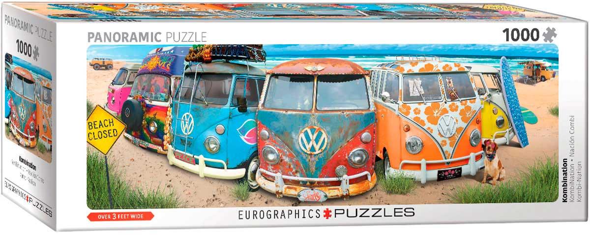 Puzzle Eurographics Volkswagen Combi-Nación de 1000 Pzs