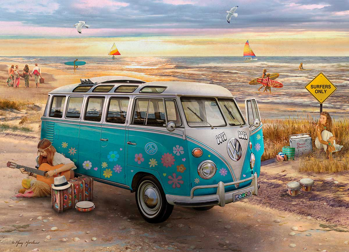 Puzzle Eurographics Volkswagen Love and Hope de 1000 Pie