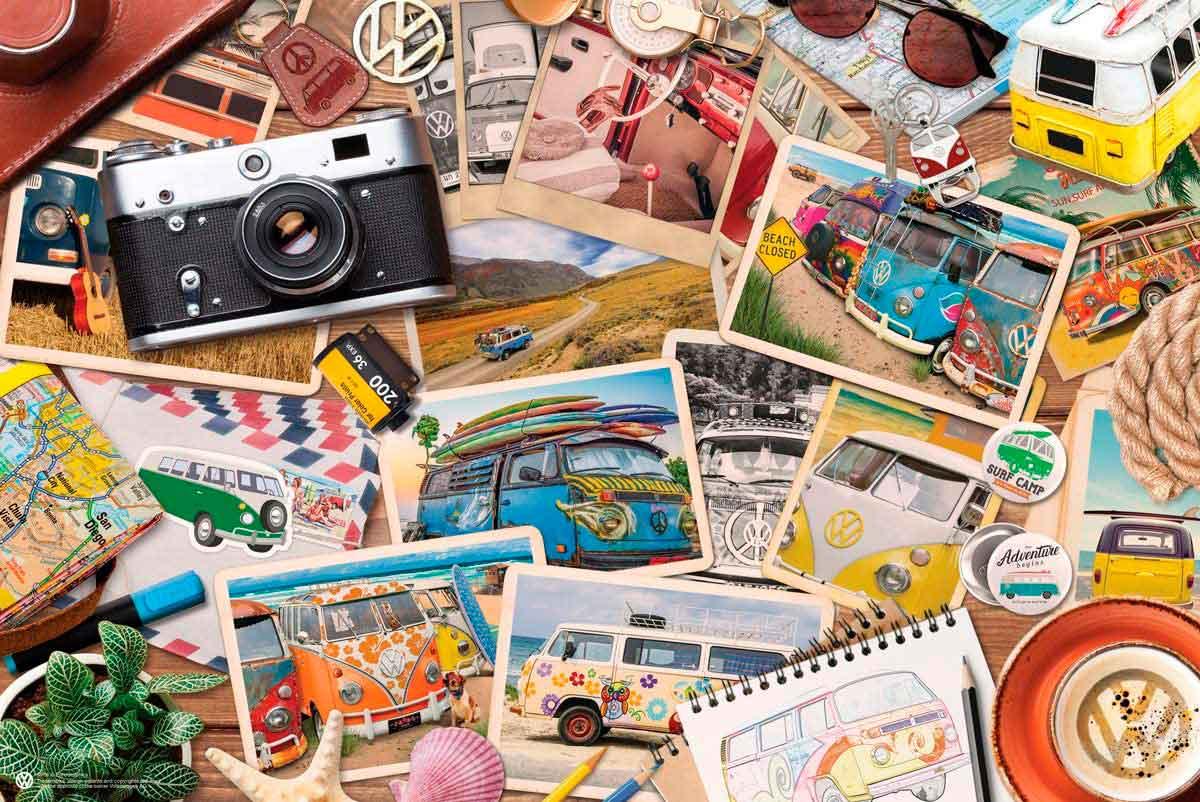 Puzzle Eurographics Volkswagen Road Trips de 550 Piezas