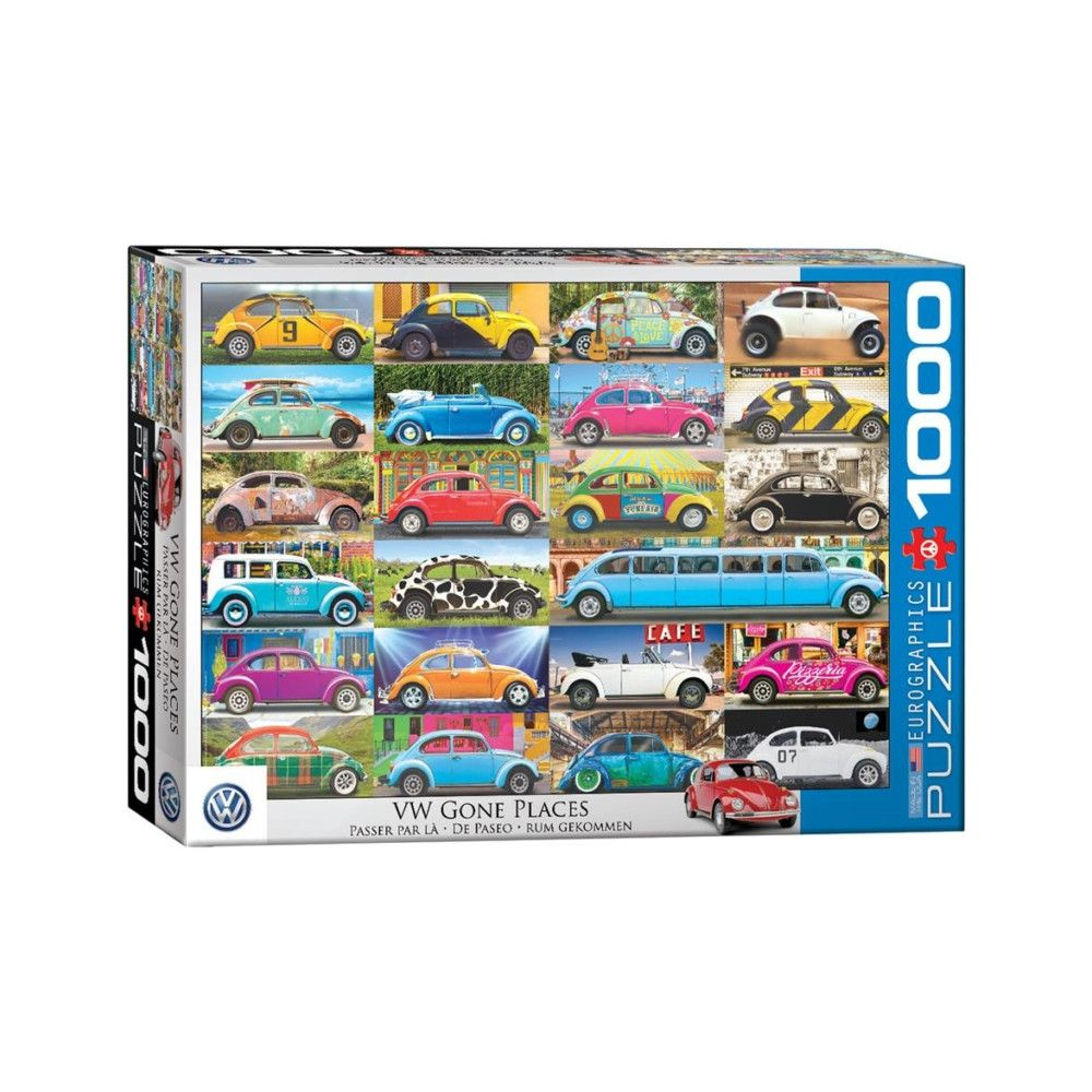 Puzzle Eurographics VW De Paseo de 1000 Piezas