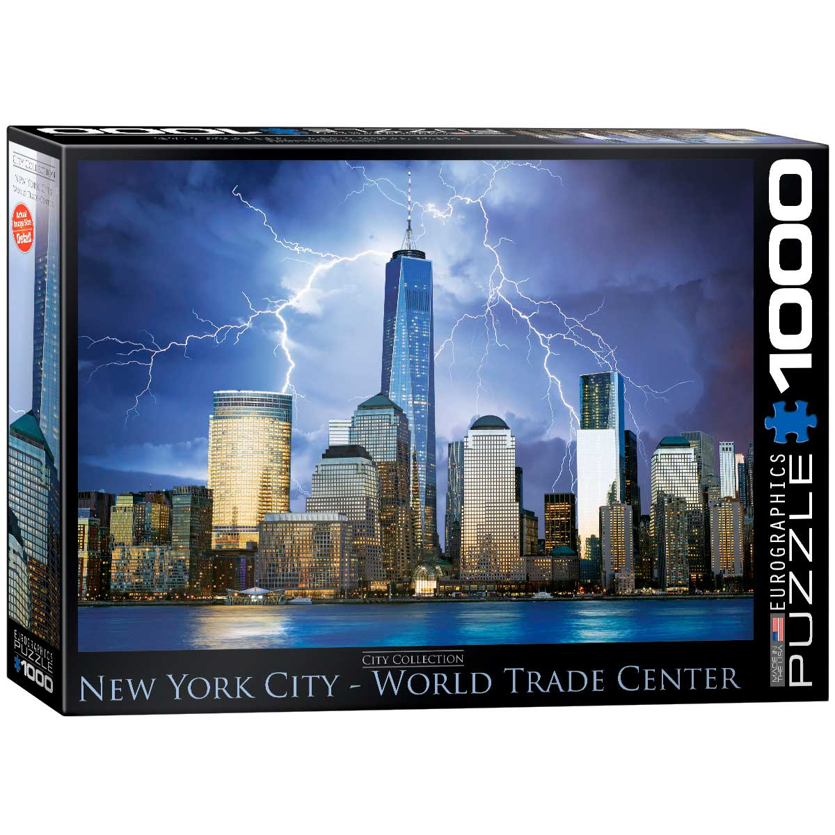 Puzzle Eurographics World Trade Center NYC de 1000 Piezas
