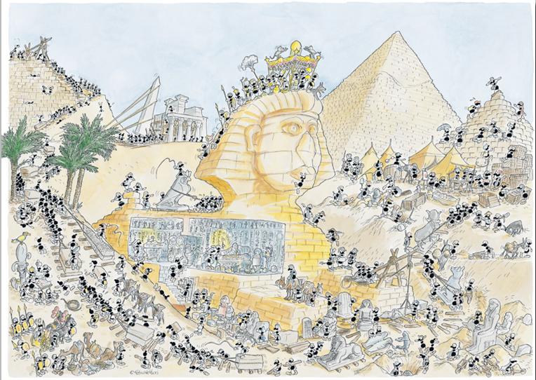 Puzzle Fabio Vettori Egipto de 1080 Piezas