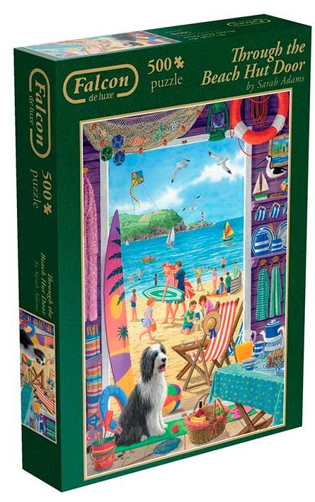 Puzzle Falcon A Través de La Casita de la Playa de 500 Piezas