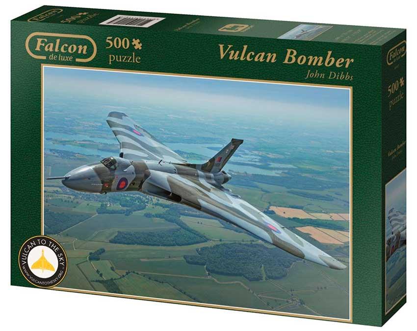 Puzzle Falcon Avión de Repostaje de 500 Piezas