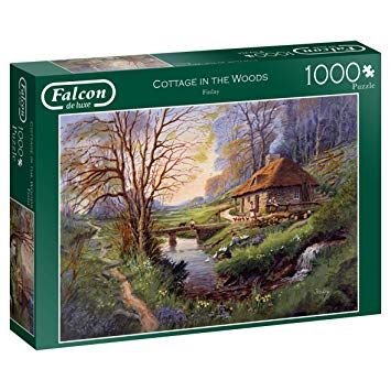 Puzzle Falcon Cabaña en el Bosque de 1000 Piezas