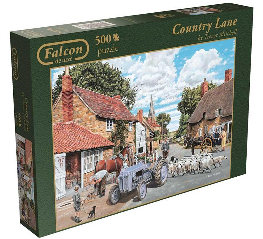 Puzzle Falcon Camino Rural de 500 Piezas