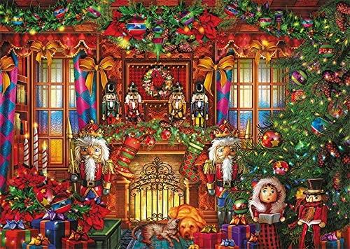 Puzzle Falcon Cascanueves de Navidad de 500 Piezas