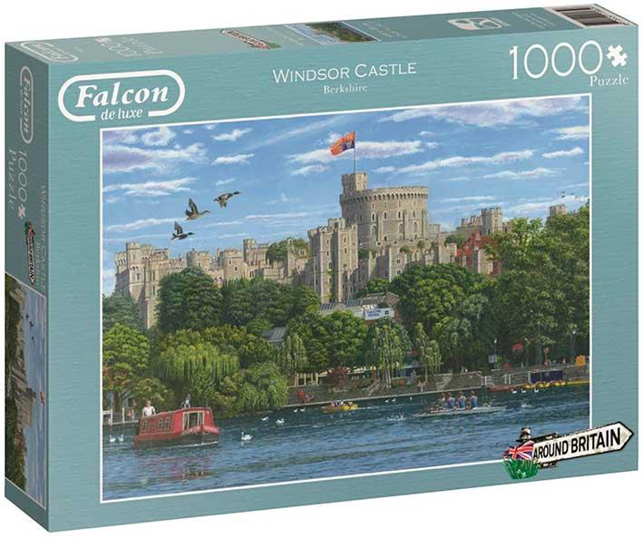 Puzzle Falcon Castillo de Windsor de 1000 Piezas
