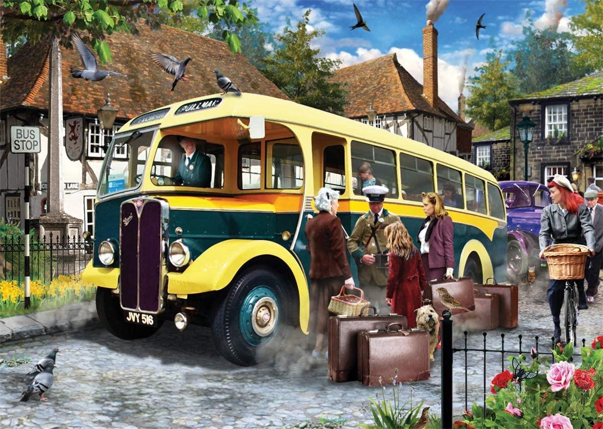 Puzzle Falcon Cogiendo el Autobus de 500 Piezas