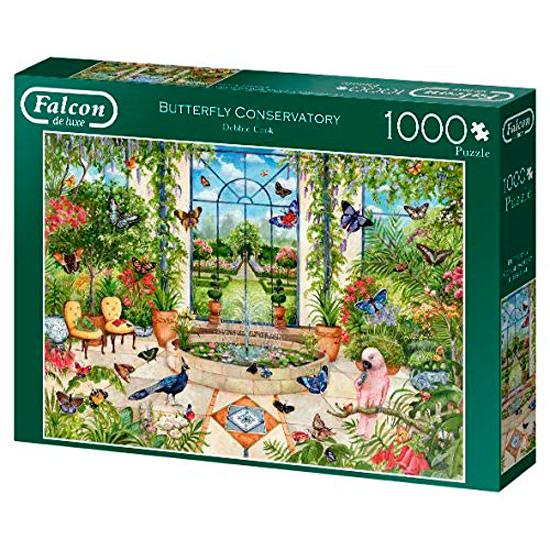 Puzzle Falcon Conservatorio de Mariposas de 1000 Piezas
