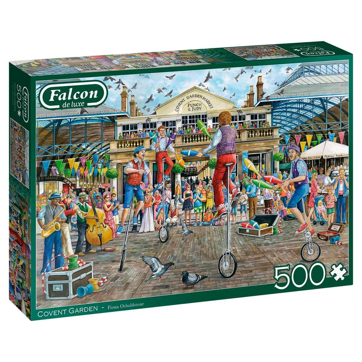 Puzzle Falcon Covent Garden de 500 Piezas