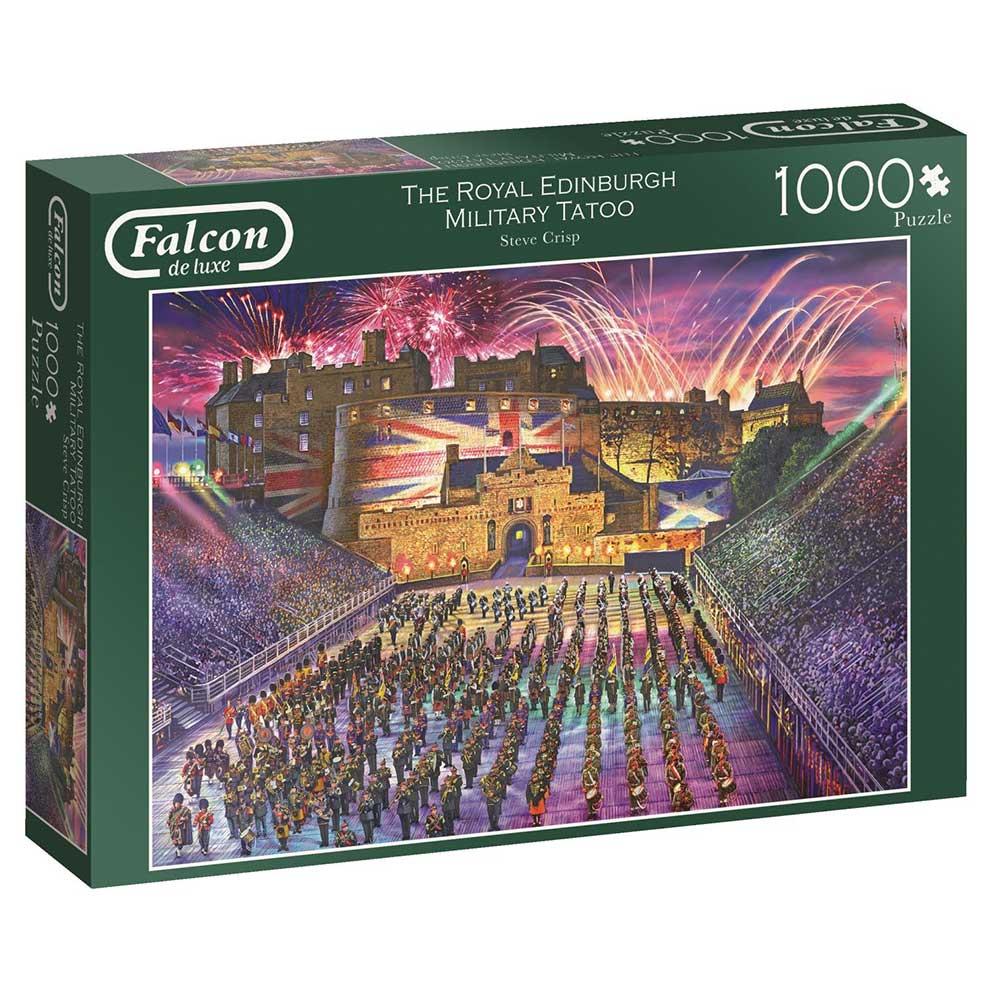 Puzzle Falcon Desfile Militar de Edimburgo de 1000 Piezas