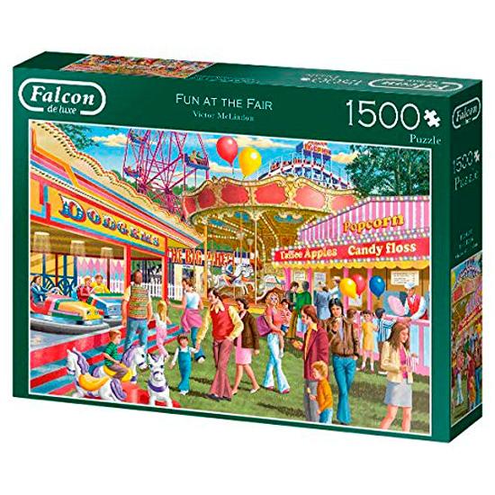 Puzzle Falcon Diversión en la Feria de 1000 Piezas
